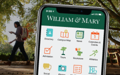 W&M Mobile app preview on a phone