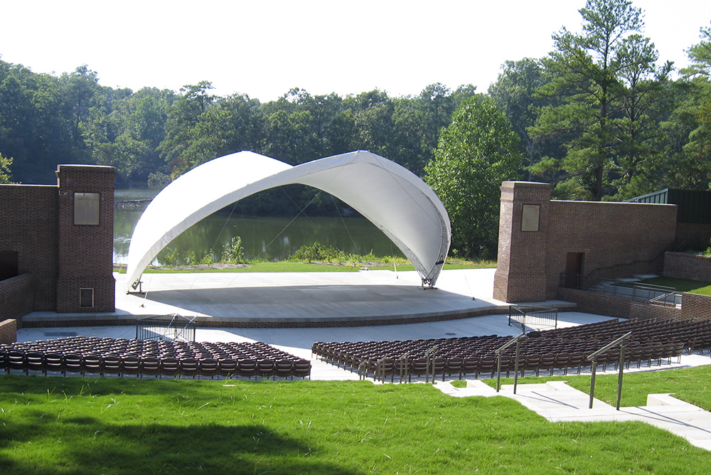 Martha Wren Briggs Amphitheatre at Lake Matoaka
