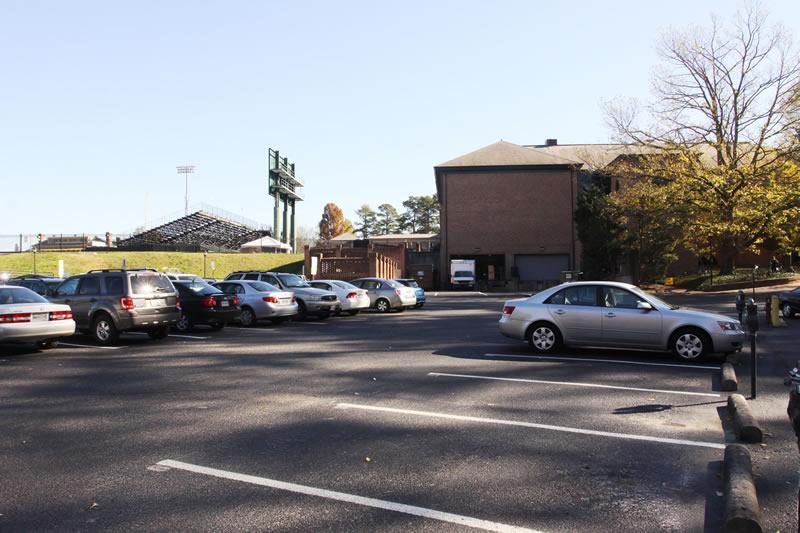Sadler Center Parking Lot