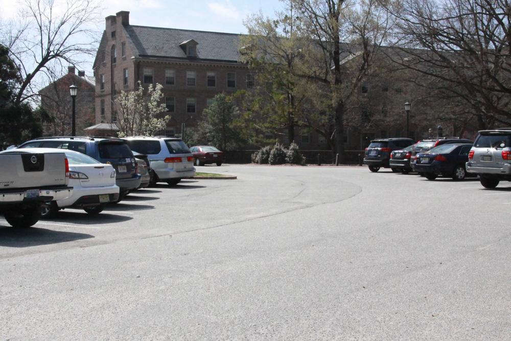 Dawson Circle Parking Lot