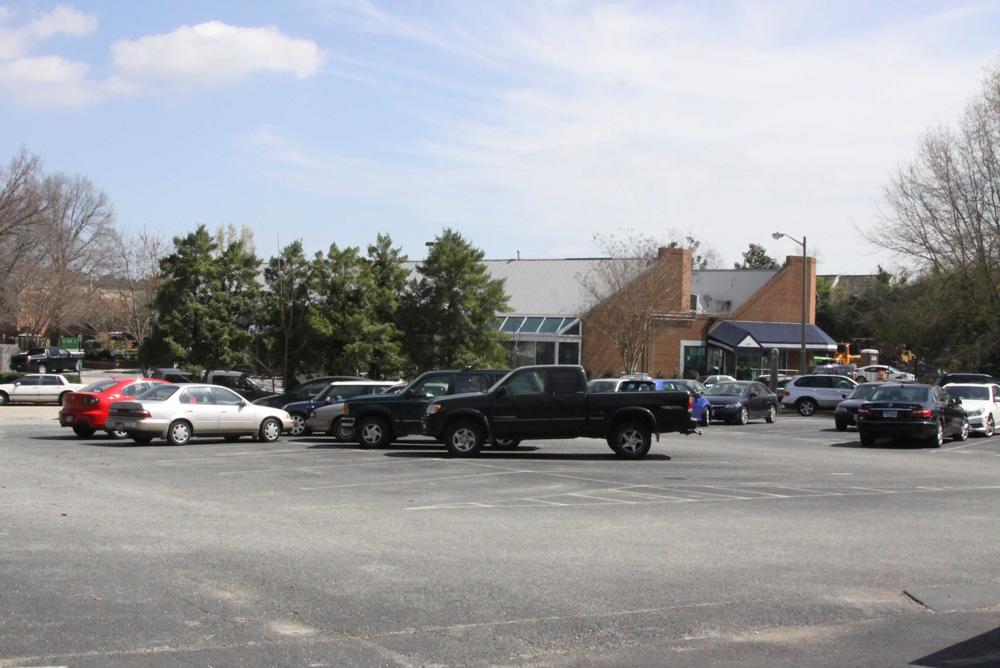 Presbyterian Parking Lot