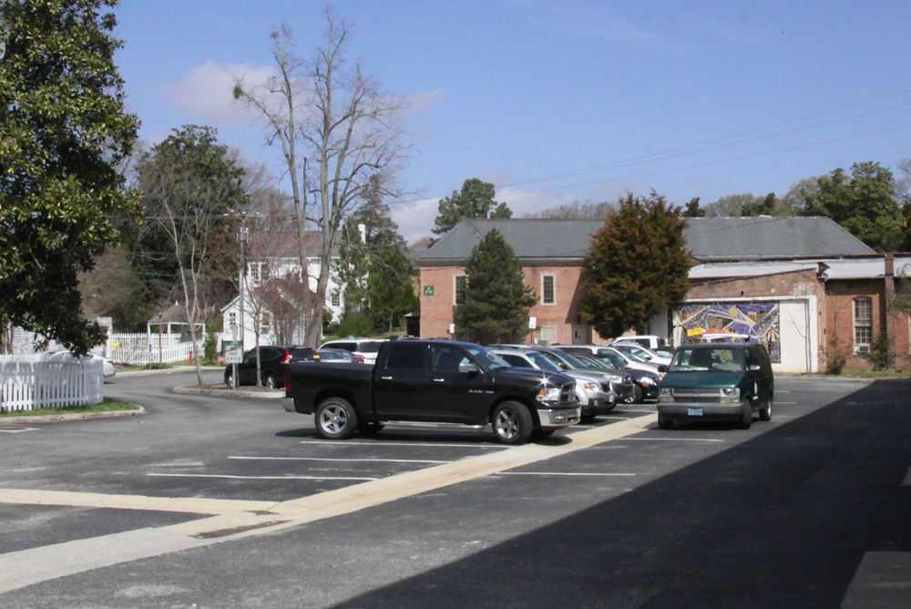Admission Parking Lot