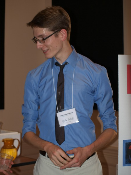 "Dylan's research focused on, ""Good Neighbors: Trade, Culture and Institutions in Territorial Disputes."""