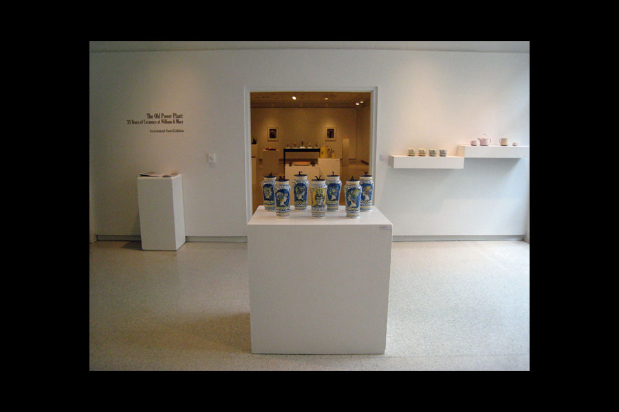 The Old Power Plant: 35 Years of Ceramics at William and Mary (March 31–April 22, 2011) at the Andrews Gallery