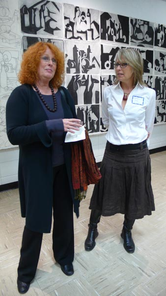 Adrienne Cohen and Professor Elizabeth Mead