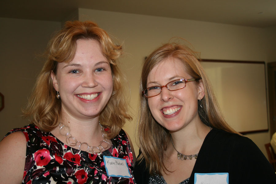 Katie Pluebell '03 and Susan Gepford '04