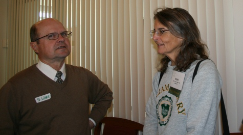 Professor Emeritus Stewart Ware and Ruth Cupery Mead '80