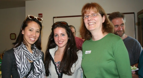 Vivian Zhu '10, Lauren O'Hagan '10, and Associate Professor Diane Shakes