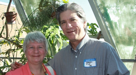 Liz Cornell '85 and James Vild '76
