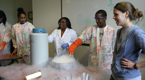 Making ice cream with science