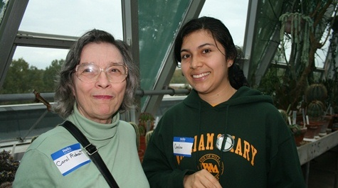 Carol Rideout '67 and Carolina Rojas Ramirez '13