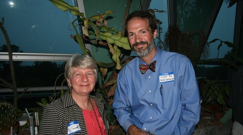 Liz Cornell '76  and Hugh Berckmueller '92 (25 years!)