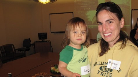Bethany Hsia '04 and daughter Addison