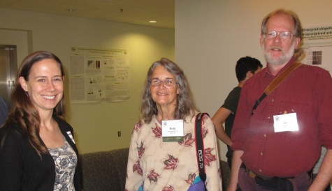 Asst. Prof. Harmony Dalgleish with Ruth Mead '80 and Jim Mead