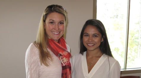 Stephanie Chambers '05 and Shivani Desai '05