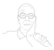 Cory English, a self-portrait