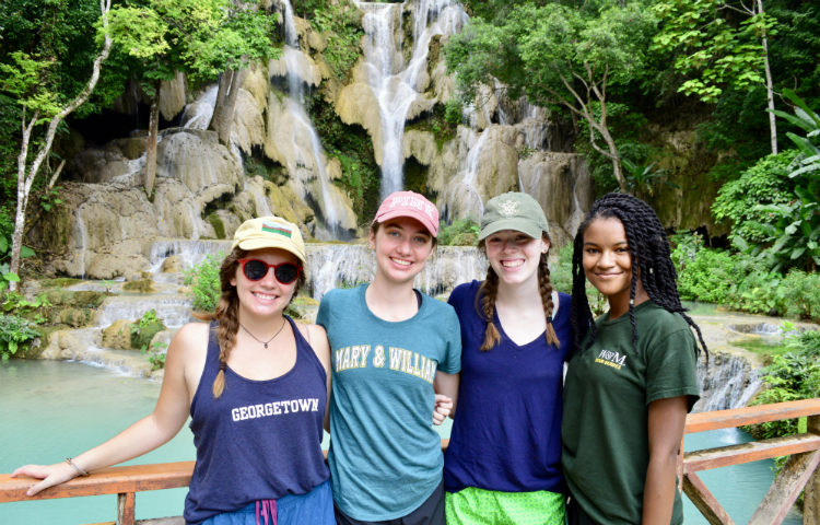 Freeman interns in Laos