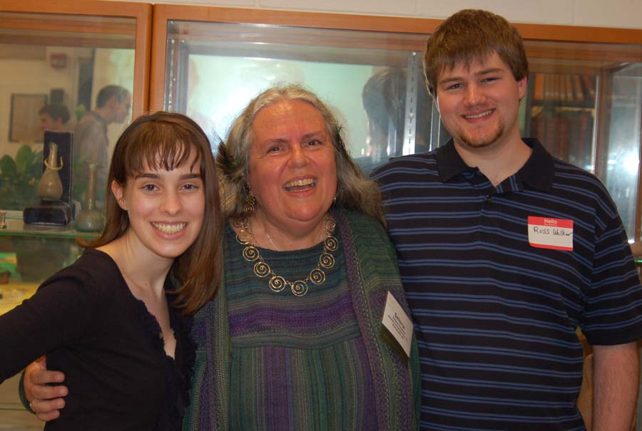 Current and former members of the Classics Club (l-r): Sam Angley, Selena Bisset-Carpenter-Fox, and Russ Walker