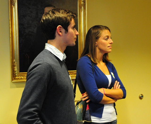 Danny Gordon (B.S., '09) and Alison Smith (B.S., '09 with a minor in CS)