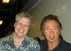 Bruce Springsteen and Professor Nelson