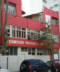 Comisión Provincial por la Memoria, where students work and study in Argentina