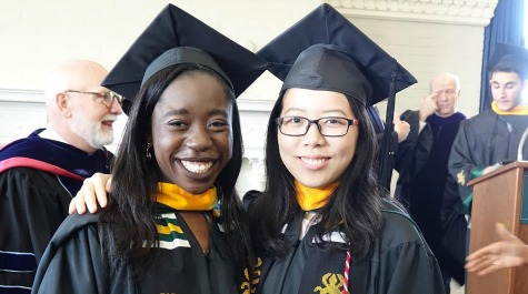 Hannah Amoako and Wei Chang