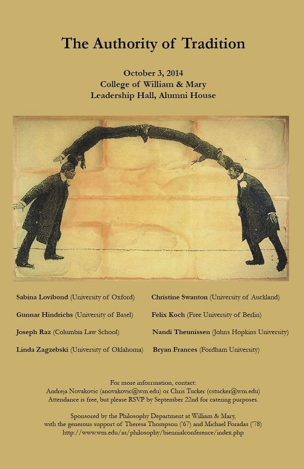 2014 Philosophy Department Conference