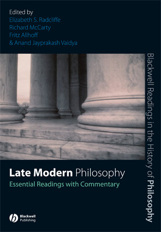 Radcliffe Late Modern Philosophy