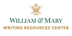 Writing Resources Centers at W&M  Logo