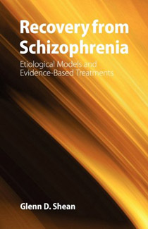 The cover of Shean's 2005 book ''Recovery from Schizophrenia''