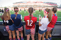 The 2015 Women's World Cup was the most-watched soccer game in the next generation of female soccer players. Photo by Mike Lawrence/ISIphotos.com