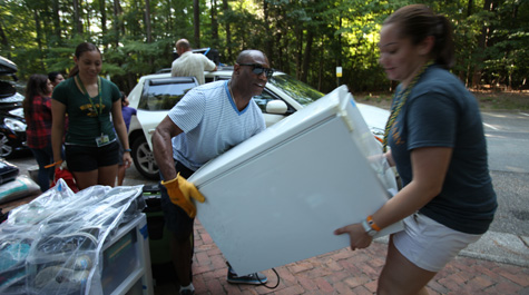 Move-in day: