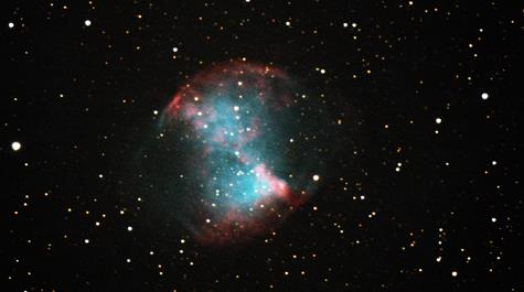 Dumbbell Nebula: