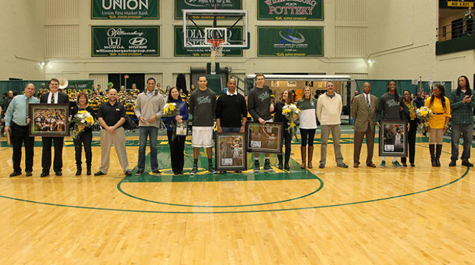 Senior Day for men's basketball