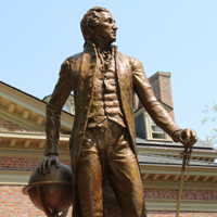 President Monroe statue to be dedicated on William & Mary campus
