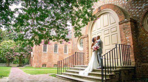 This couple, Lisa Marie Scott and Nicky Hutchison were married in the Wren Chapel in July 2014.