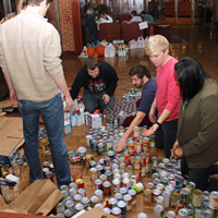Thanksgiving basket competition helps families in need
