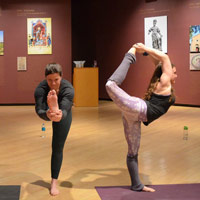See the Muscarelle in a new way with 'Yoga in the Galleries'