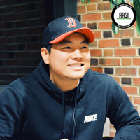 Heein Choi '18 in a photo from the FACES of Asian Americans project