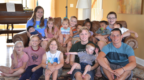 Most of the crew