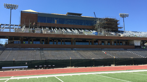 W M Donors Fund State Of The Art Press Box At Zable Stadium