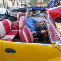 Director of Special Collections Jay Gaidmore in Cuba