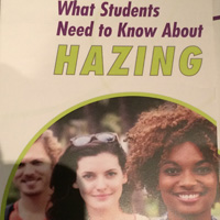 One of the brochures distributed to students
