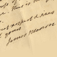 William & Mary acquires James Monroe letters