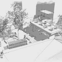 Inside out: Architecture students design for Swem expanding outdoors
