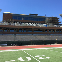 W&M donors fund state-of-the-art press box at Zable Stadium