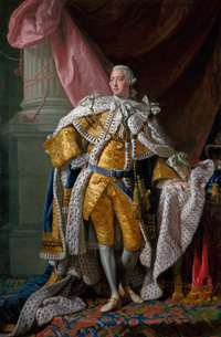 King George III. (Johan Joseph Zoffany, 1771. Courtesy Royal Collection Trust)