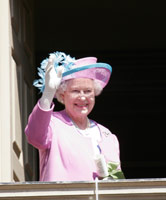 Queen Elizabeth II at W&M in 2007. (File photo)