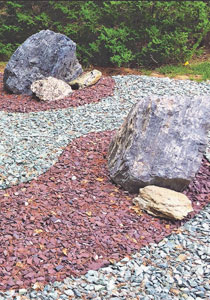 Geology Rock Garden (Photo courtesy of geology department)