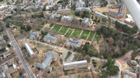 W&M from the air: